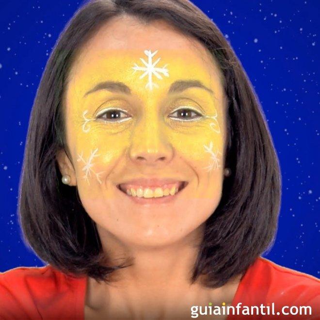 Maquillaje de hada de navidad disfraz navide o para ni as - Disfraz navideno nina ...