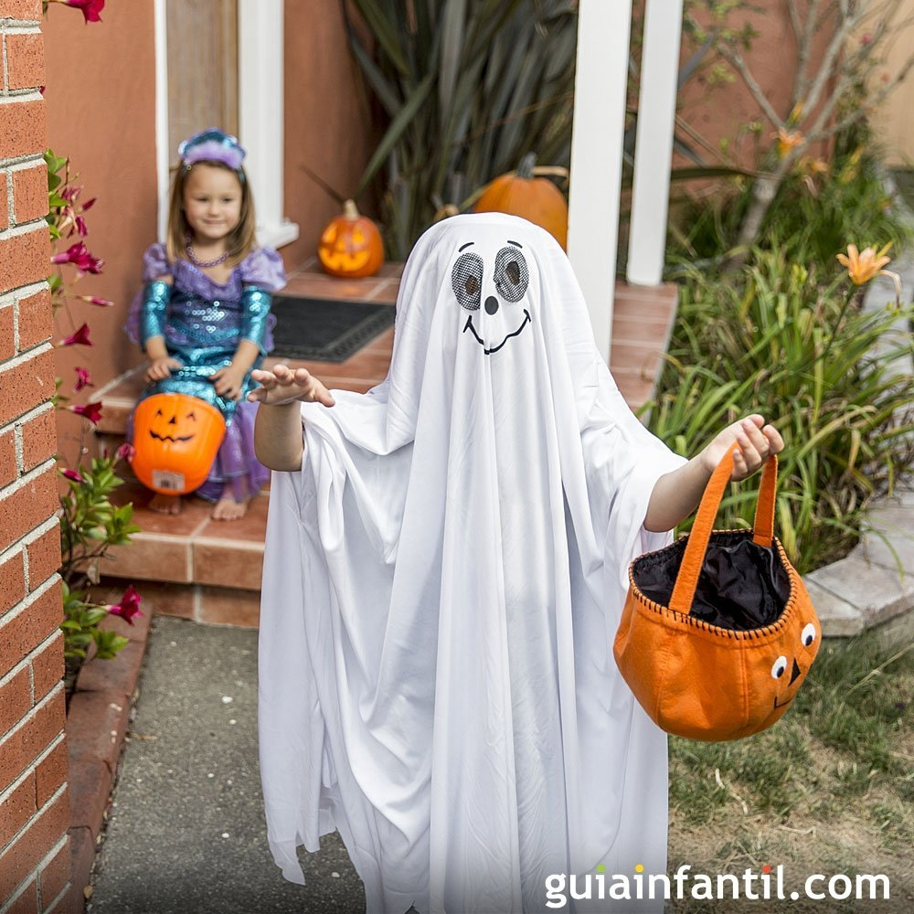 Truco o trato. Juegos para el Halloween de los niños
