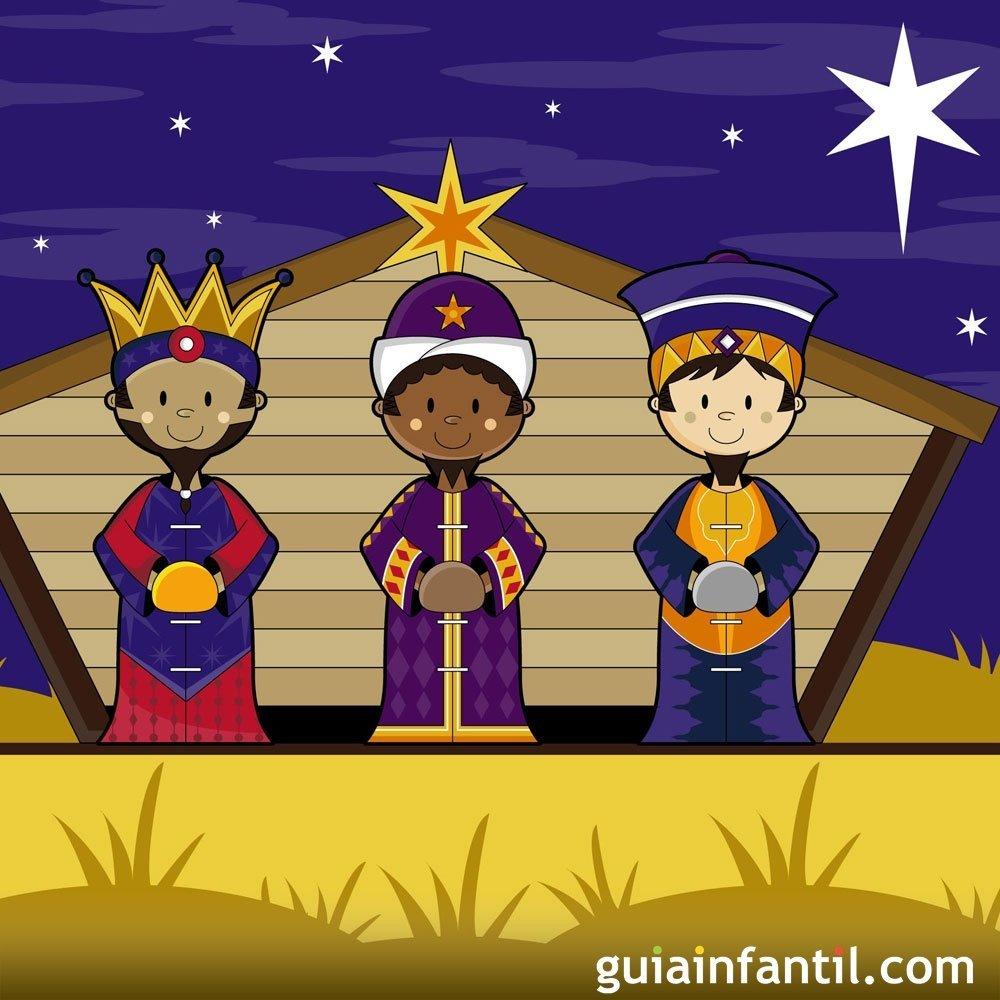 Érase una vez una noche de Reyes. Cuento de Navidad para niños