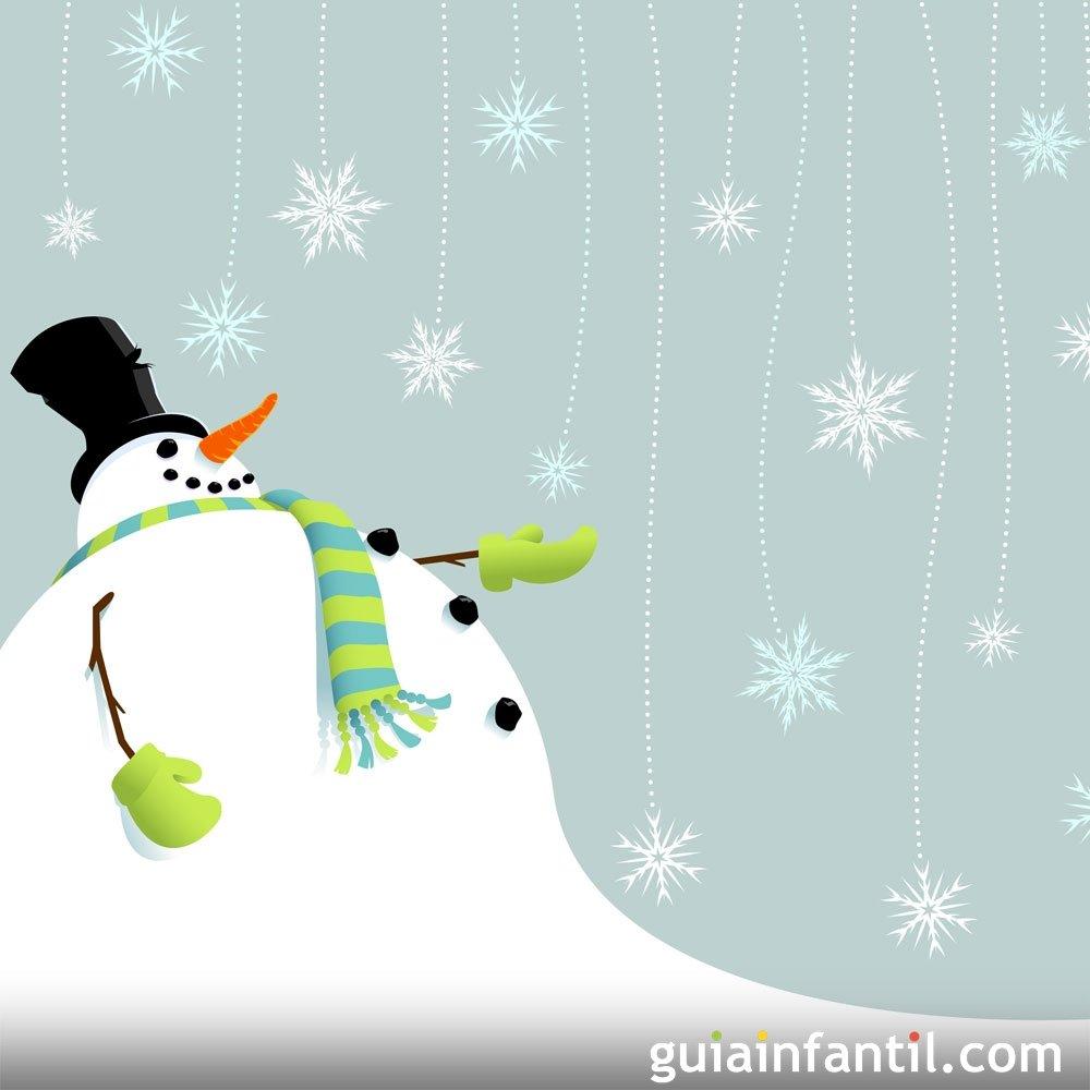 El muñeco de nieve. Cuento de navidad para niños