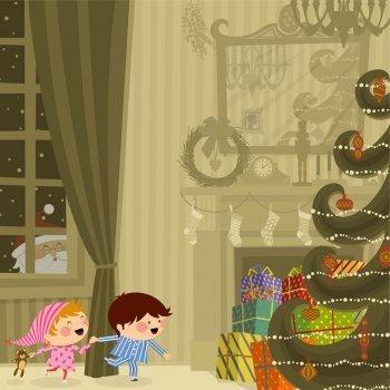 Something about December. Villancico en inglés para niños