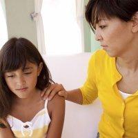El sentimiento de culpa después de castigar a los hijos