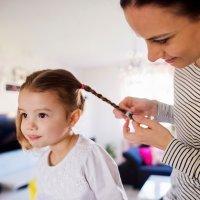 Vídeos de peinados para niñas en Navidad