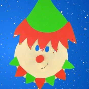 Máscara de elfo de Papá Noel