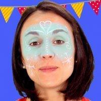 Maquillaje de Frozen para niñas