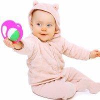 Beneficios del sonajero para los bebés