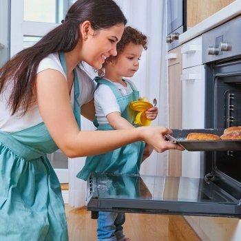 Cocinar las comidas de los niños en el horno: ¿sí o no?