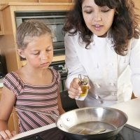 Lo bueno y lo malo de freír los alimentos de los niños