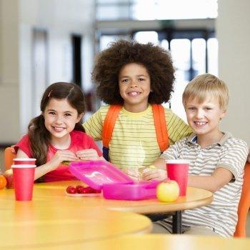 Alimentación de los niños en la etapa escolar
