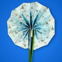 Pai pai de origami. Manualidades con papel