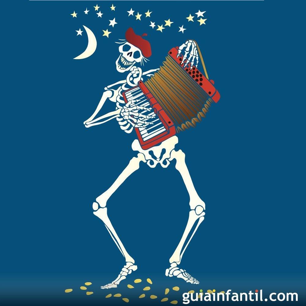 El esqueleto bailón. Poema didáctico para niños