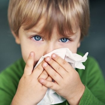 Siete trastornos que provocan los mocos en la infancia