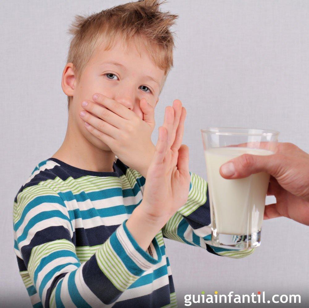 cual es la proteina de la leche que causa alergia