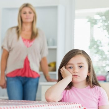 El peligro de castigar al niño sin hablarle