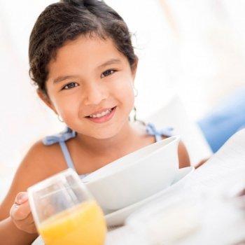 Alimentos a evitar para los niños en ayunas