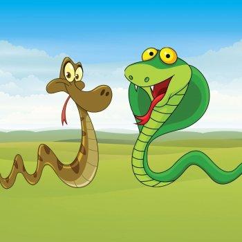 La serpiente y la cobra. Poesías para niños