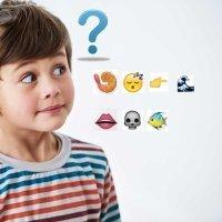Refranes con emoticonos para los niños