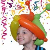 Gorro de arlequín con globos paso a paso