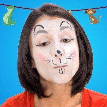 Maquillaje de ratón para niños