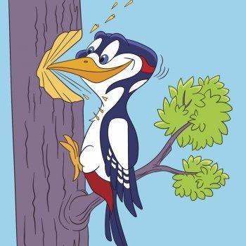 Nicanor (El pájaro carpintero). Poema didáctico para niños