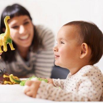 Juegos para enseñar a hablar a tu bebé