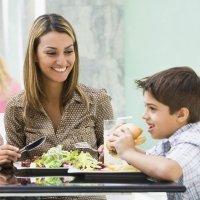 Menú infantil de restaurante: sí o no