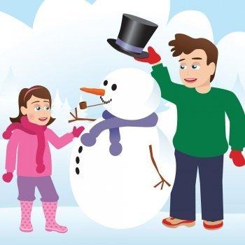 Gastón, el muñeco de nieve