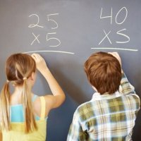 Truco de la tabla de multiplicar del cinco para niños