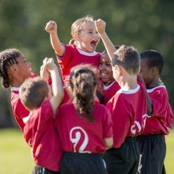 Valores sociales que transmite el deporte a los niños