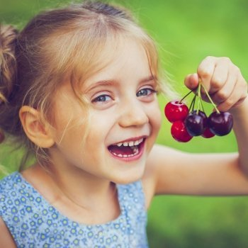 Razones para que los niños coman fruta