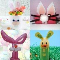 Manualidades de conejitos de Pascua