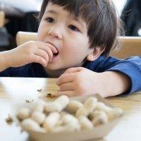 Beneficios del cacahuete o maní para los niños