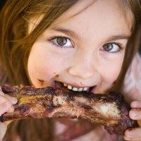 La carne de cerdo en la dieta del niño