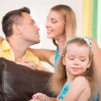Cuando los niños sienten celos hacia su madre o su padre