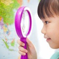 Mapamundi para niños de primaria