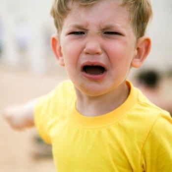 Enseñar al niño a manejar la ira