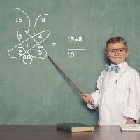 Truco de la mariposa para enseñar a sumar fracciones a los niños