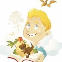 El niño y los dinos. Cuento en verso para niños