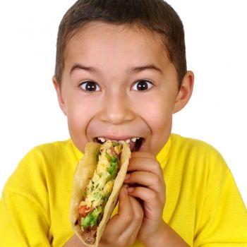 Menú infantil mexicano