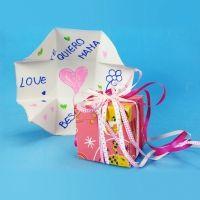 Caja con sorpresa para el Día de la Madre. Manualidades infantiles