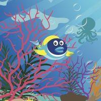 El pez tropical. Poema sobre las emociones