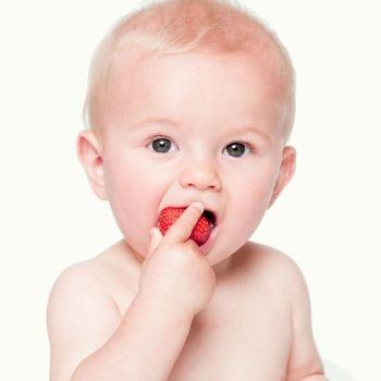 Qué frutas puede tomar el bebé