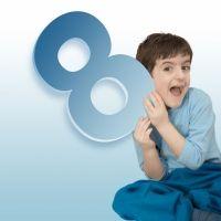 Truco de la tabla del 8 con las manos para enseñar a los niños