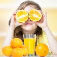 Curiosidades sobre los cítricos en la dieta infantil