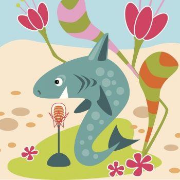 Los peces quieren cantar. Poema divertido para niños