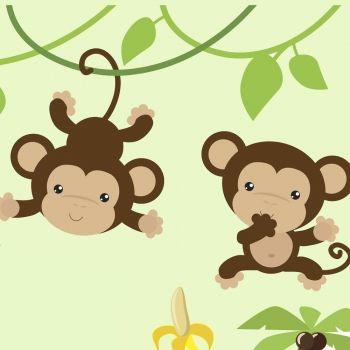 Los monos. Poema infantil sobre la amistad