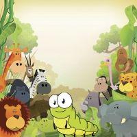 El león y el gusano. Cuentos educativos para niños