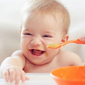 Tabla de introducción de alimentos para bebés