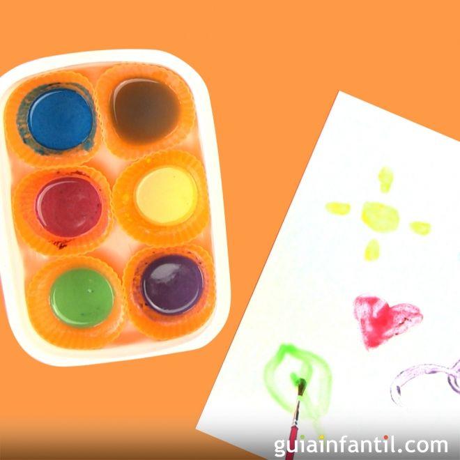 Pintura casera para ni os manualidades infantiles divertidas - Manualidades divertidas para ninos ...