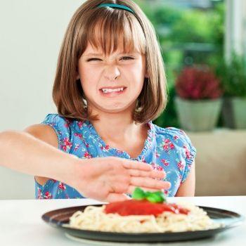 Niños que sienten asco por la comida
